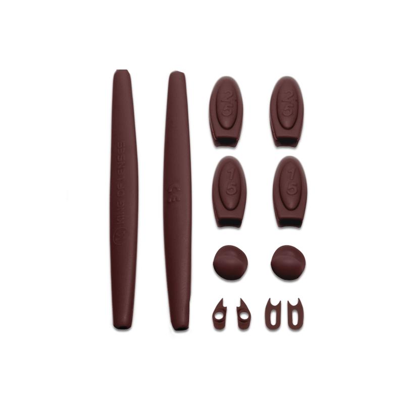 kit-borracha-marrom-escuro-oakley-romeo-1-king-of-lenses