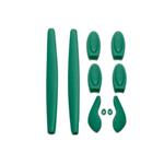 kit-borracha-verde-escuro-oakley-double-x-king-of-lenses