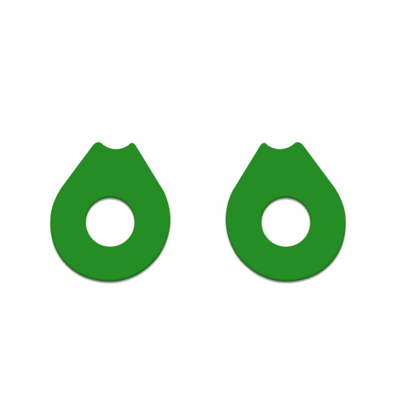 gasket-oakley-double-x-verde-limao-king-of-lenses