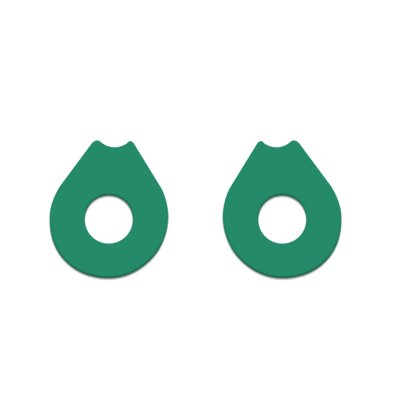 gasket-oakley-double-x-verde-musgo-king-of-lenses