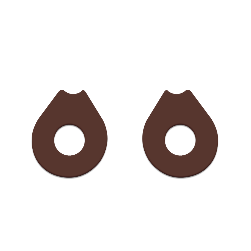 gasket-oakley-penny-marrom-escuro-king-of-lenses
