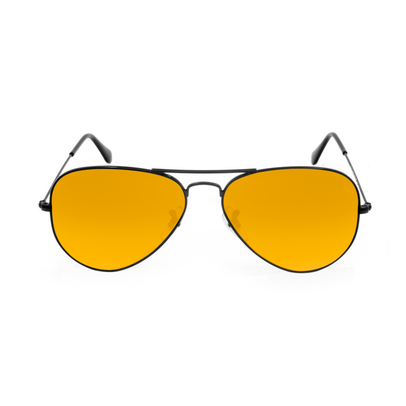 lentes-rayban-aviador-orange-noturna-king-of-lenses