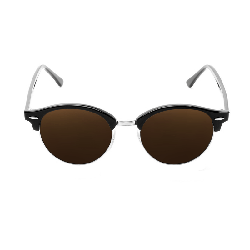 lentes-rayban-clubround-brown-king-of-lenses