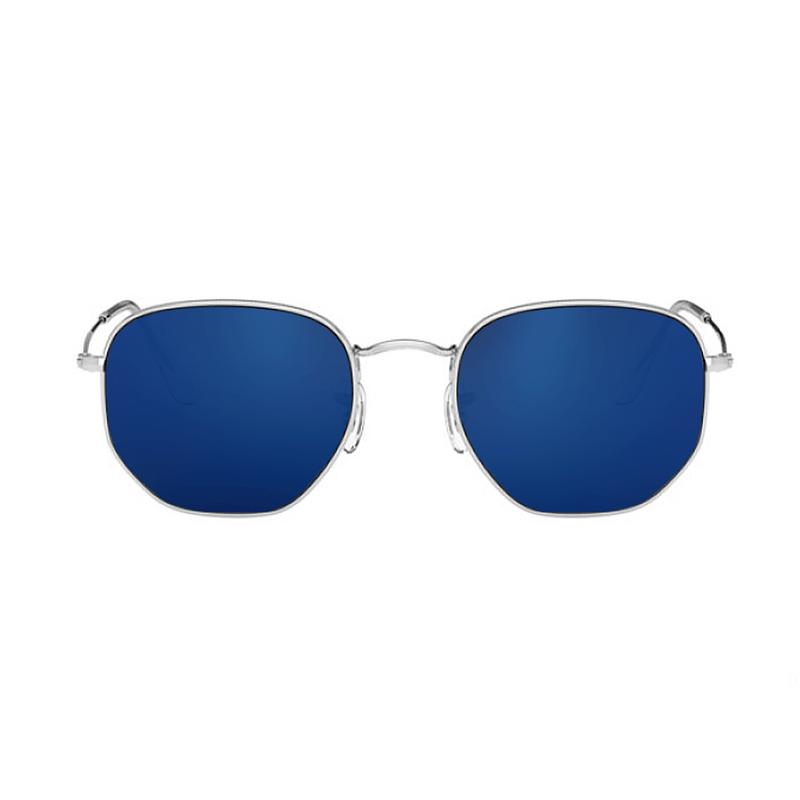 lentes-rayban-hexagonal-RB3548-dark-blue-kingoflenses