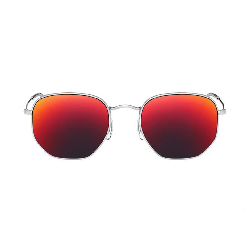 lentes-rayban-hexagonal-RB3548-dark-ruby-kingoflenses