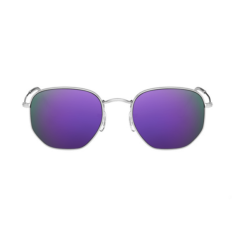 lentes-rayban-hexagonal-RB3548-purple-kingoflenses