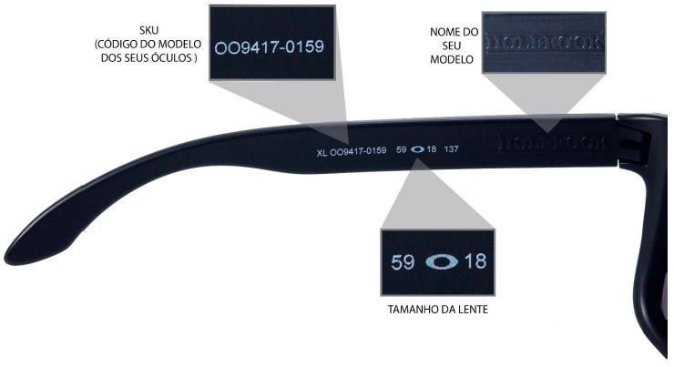 Exemplo de SKU: OO9417